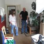 Interview mit zwei Journalisten bei uns im Büro