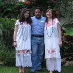 traditionelle Kleider aus Mexiko