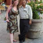 Marlen und Gabriel vor authentischer Mexico City-Kulisse