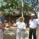 Don Antonio y nuestro guia - Hacienda Sotuta de Peon