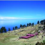 Isla Taquile im Titicacasee