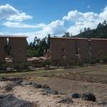 die Tempel-Ruinen von Raqchi