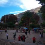 blühende Pisonay-Bäume in Andahuaylillas