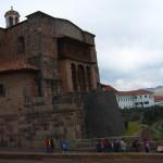 Die Reste des Coricancha Tempel in Cuzco