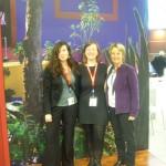 ITB 2010 - mit unserer Partnerin Irene für Tauchen in Mexiko