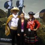 ITB 2010 - von wegen die Peruaner sind alle klein...