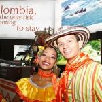Gute Stimmung am Messestand von Kolumbien - ITB 2010