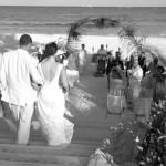 Eine Hochzeit am Strand von Mexiko