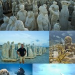 Bilder vom Underwater Art Museum bei Cancun