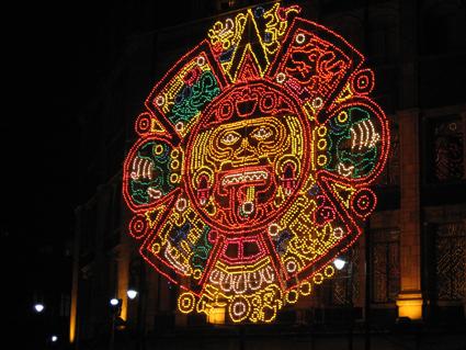 Mexico City Leuchtfigur