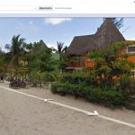 Google Streetview zeigt unser Lieblingshotel Mahekal in Playa del Carmen