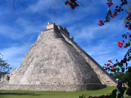 Maya-Pyramide von Uxmal