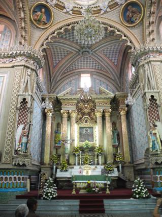 Kirche in Tlalpujahua