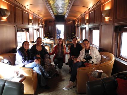 Zugfahrt nach Pátzcuaro