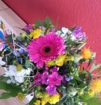Blumen 8 Geburtstag