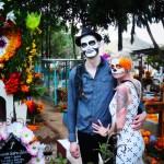 Unsere Kunden Bianca udn Christian am Dia de los Muertos in Oaxaca
