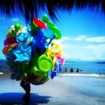 Strandverkäufer Guayabitos