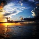 Sonnenuntergang Sisal