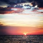 Sonnenuntergang Holbox