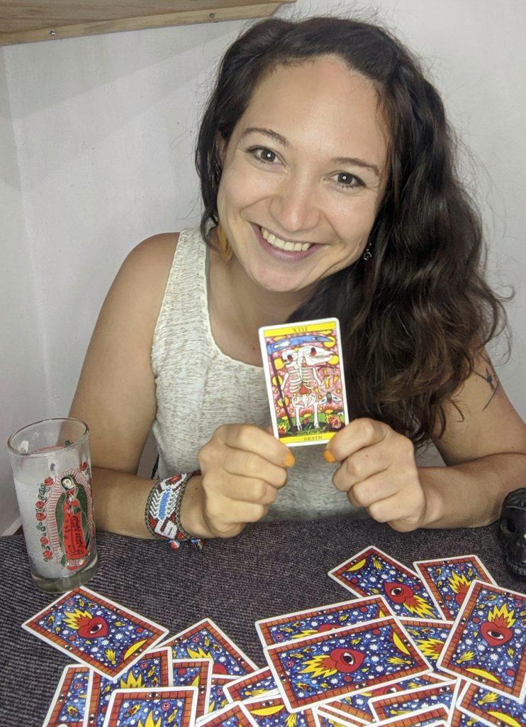Katrin und ihre Tarot Karten