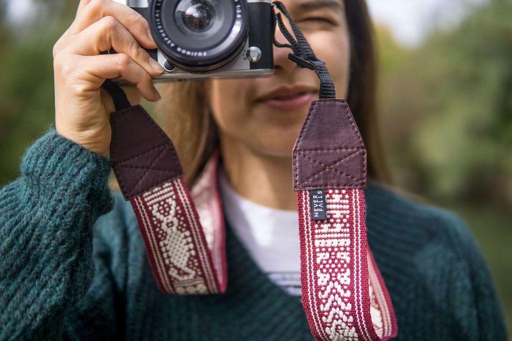 Kameraband aus Oaxaca von NeverFalls