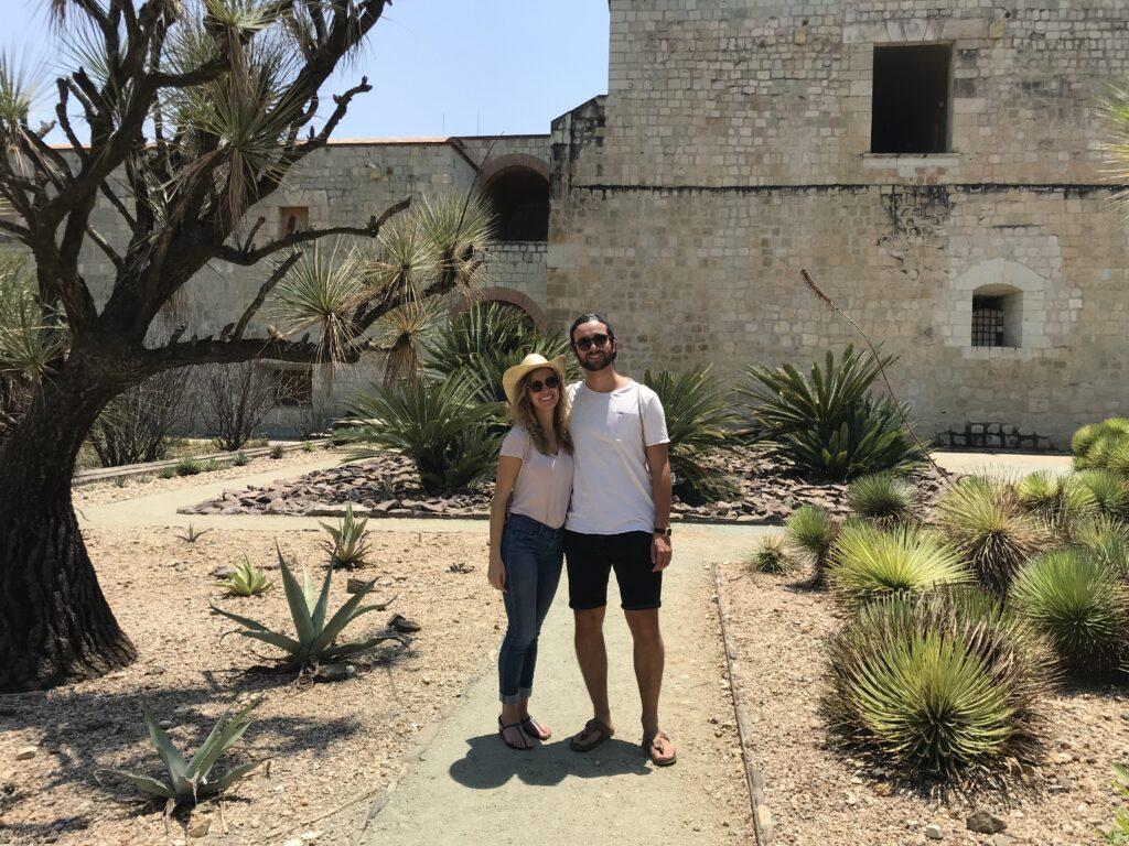 Nina und Nils in Oaxaca